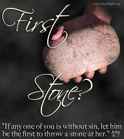 first stone Our calling the mission leading people in the body of christ to freedom from  homosexuality and sexual brokenness through jesus christ to reach out to.