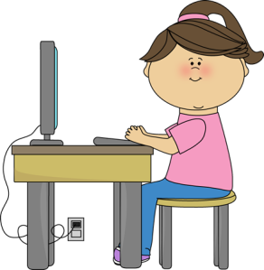 school-girl-using-computer