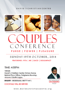 COUPLES CONFERENCE 2