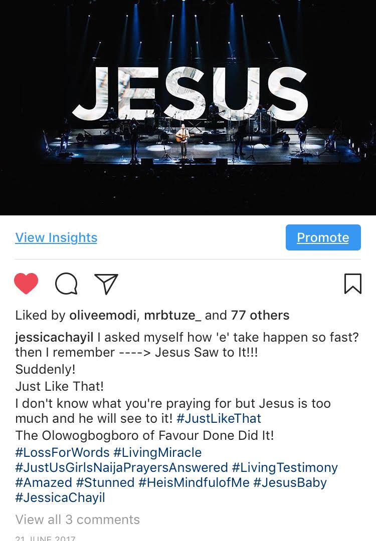 JESUS SAW TO IT